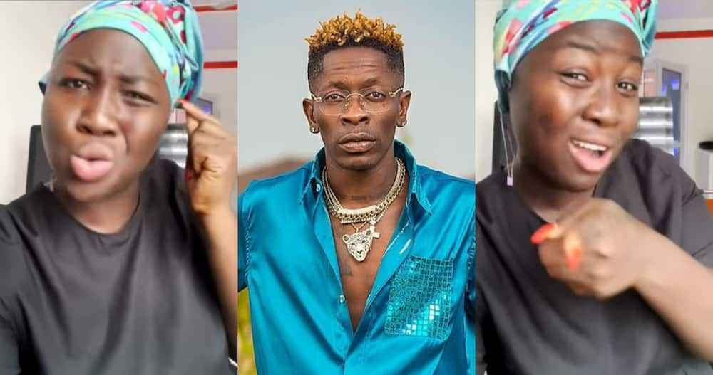 Lady Bashes Shatta Wale over Ejura Shootings; Compares Victims to Nima Residents