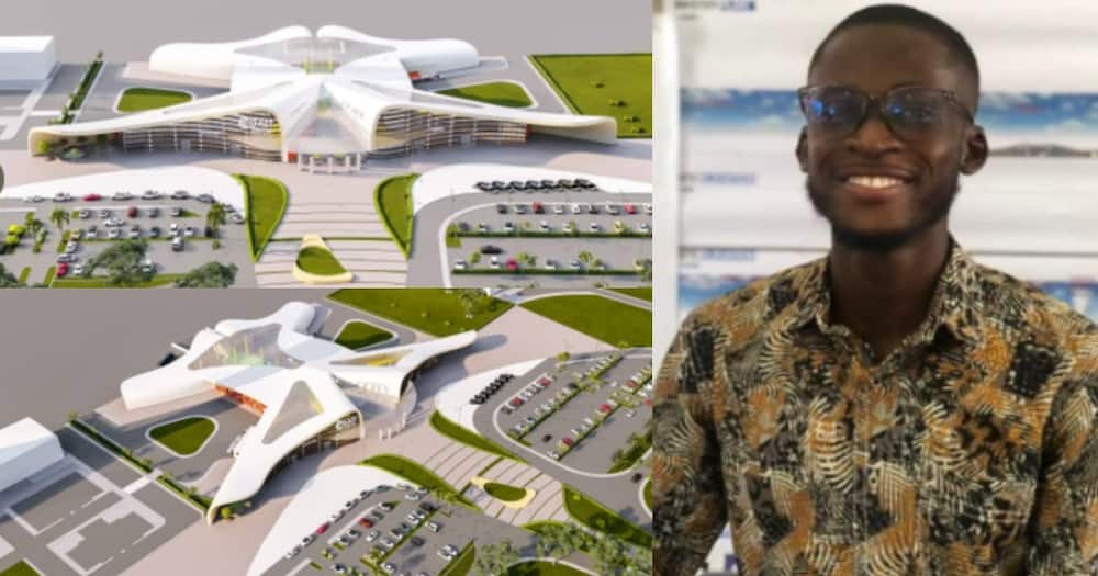 Many React as Design of a Proposed Cape Coast International Airport Surfaces Online