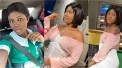 Pretty Ghanaian nurse with fine legs drops beautiful photos to celebrate her birthday