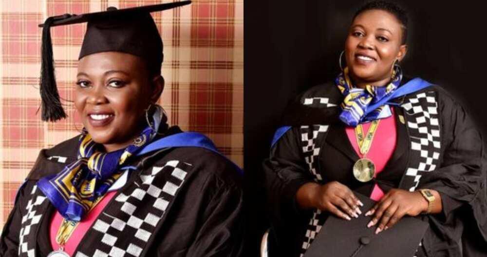 Vivian Aggrey Otoo: Ghanaian Single mum who saw Herself Through SHS