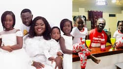 8 beautiful family photos of Odartey Lamptey's wife and all 3 lovely children