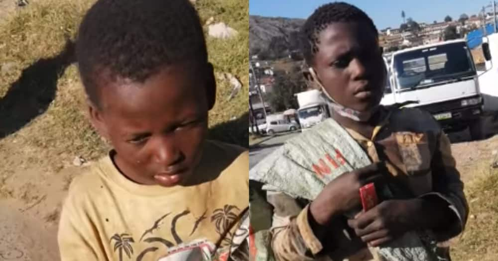 Good Samaritan, BI Phakathi, touches the lives of two young brothers