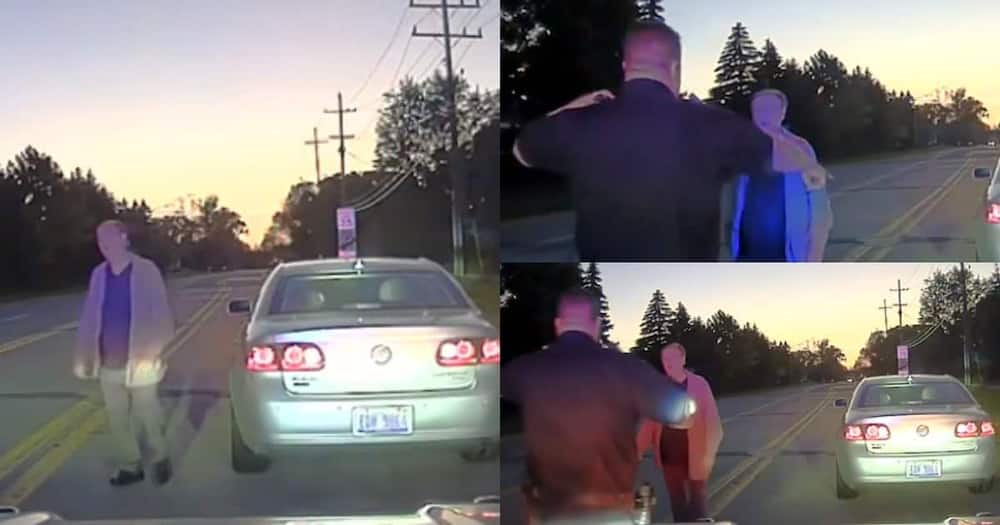 Man stopped for speeding, explains he was trying to make sick wife happy.