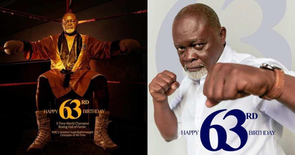 Azumah Nelson: Boxing Hall Of Famer Turns 63; Ghanaians Hail Him