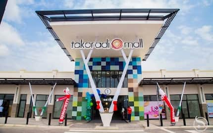 40 million dollar Takoradi Mall opens