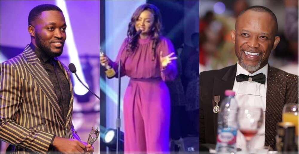 RTP Awards 2020: Nana Ama McBrown, Fadda Dickson, Kennedy Osei, others glow in their luxury outfits