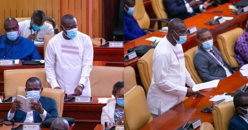Tap into the youth - Ejisu MP John Kumah advocates on floor of parliament