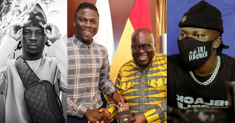 President Akufo-Addo commends Stonebwoy for registering for the new Voters ID