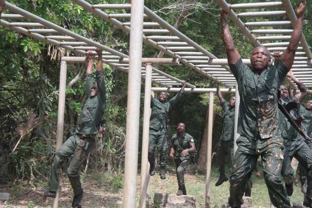 Ghana army training