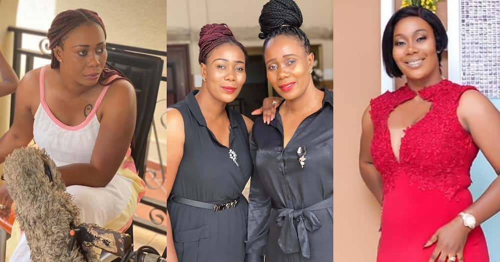 Borga Sylvia: Kumawood actress Sandra Adu drops 10 beautiful photos with her twin sister