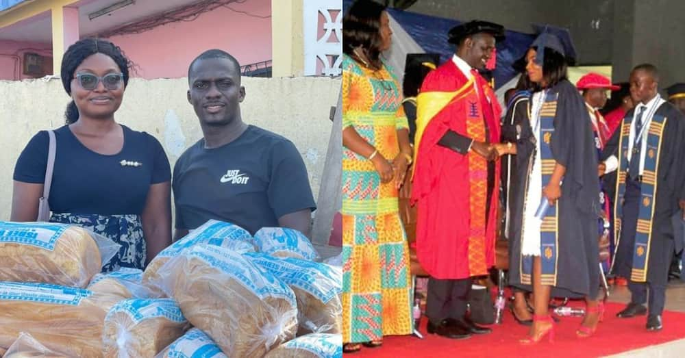 Meet the 1st class graduate selling bread on street for 2 years due to unemployment
