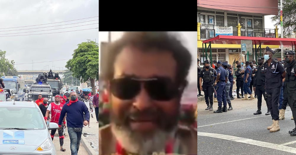 Video drops as Rawlings lookalike storms #FixTheCountry demo; blasts gov't