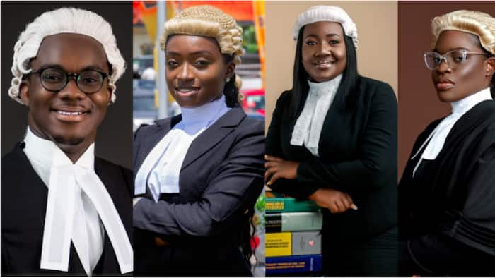 Law 'Sharks': Meet the 8 best students of the Ghana School of Law for 2021