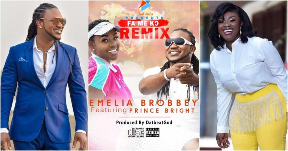 Emelia Brobbey and Prince Bright Fa Me Ko remix