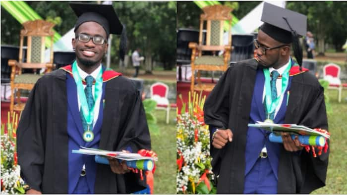 Ghanaian student tops entire GIMPA school; emerges as 2019 overall best student