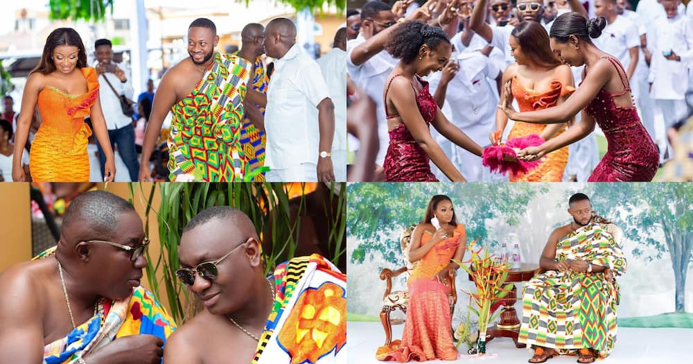 Cindy Ofori Sarpong: Official photos from traditional wedding of SpecialIce's daughter