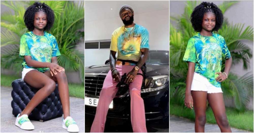 Emmanuel Adebayor flaunts his all-grown daughter Kendra in new photos to celebrate her birthday