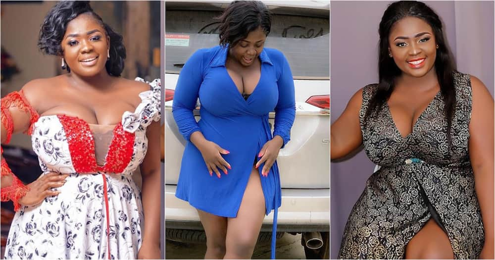 My legs are sexy; not '50 years' - Tracey Boakye says as she flaunts raw legs in new video