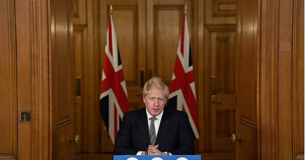 Boris Johnson told the English people that they would have to face a second lockdown. Photo credit: Getty Images