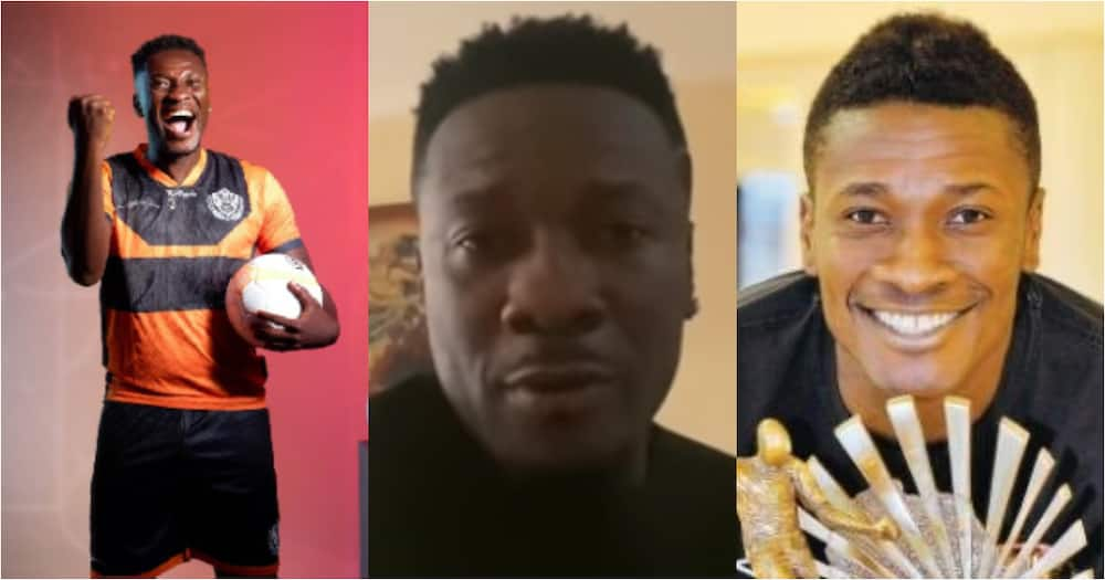GFAwards21: Asamoah Gyan honoured with the Player of the Decade Award