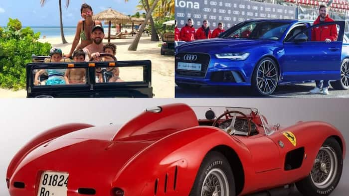 Lionel Messi has the most valuable car collection in world of sports worth GHc232 million