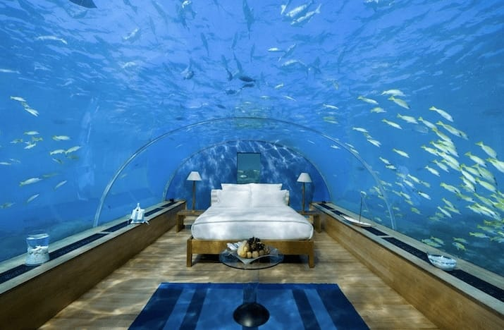 This Underwater Resort Room In Tanzania Is Taking Travellers By Awe