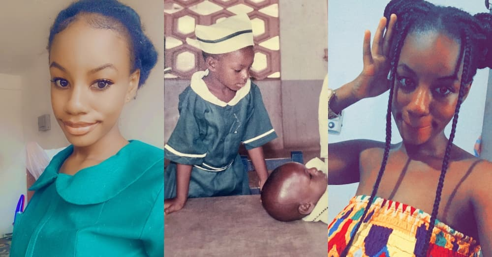 Girl who acted as a nurse in a childhood play fulfills the dream in real life after several years