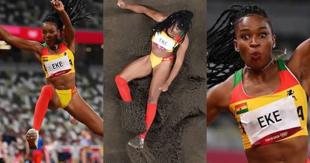 Tokyo 2020: Ghana's triple jumper Nadia Eke fails to qualify to the next stages after three attempts