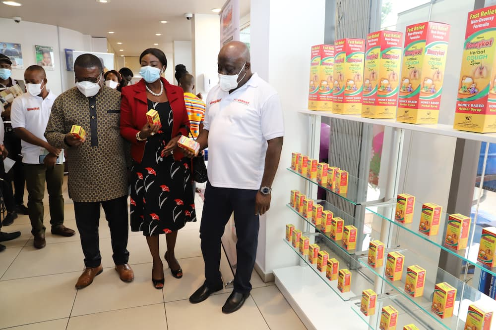 Pharmaceutical giants Ernest Chemist launches herbal cough syrup