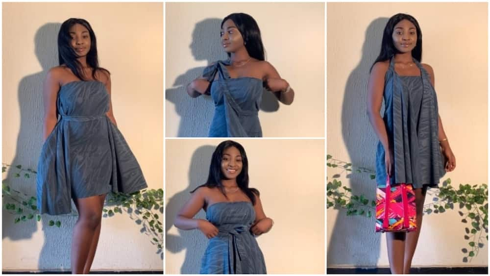 A collage of the clothes she made. Photo source: Twitter/@just_oyinda