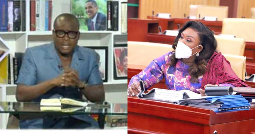 All those criticising Hawa Koomson do not know anything - Adom Otchere