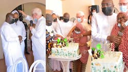 Bawumia marks 58th birthday Celebration with his cured leper friends