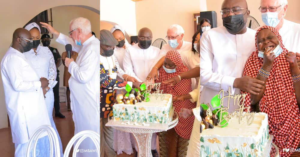 Bawumia celebrates 58th birthday with some cured lepers