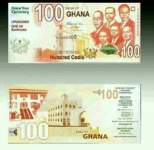 How Are New Cedi Notes Diffe From The Old Ones Spot