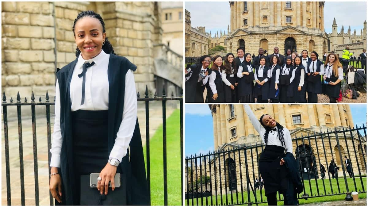 Smart lady gains admission into University of Oxford, shares beautiful photos to celebrate