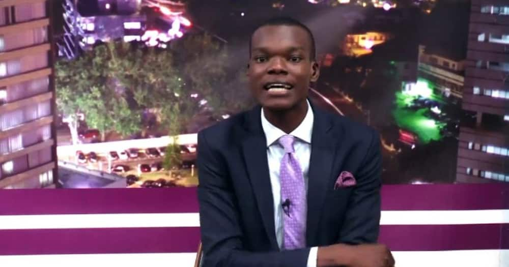 Citi FM's Caleb Kudah arrested for filming on the premises of the National Security