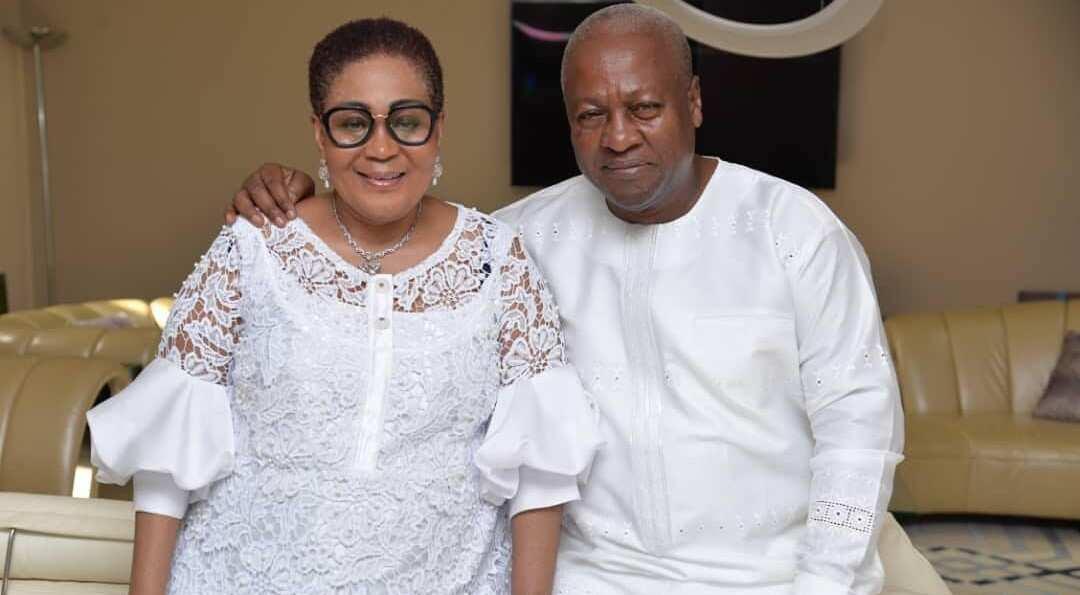 Beautiful photos drop as Mahama's wife bags another degree