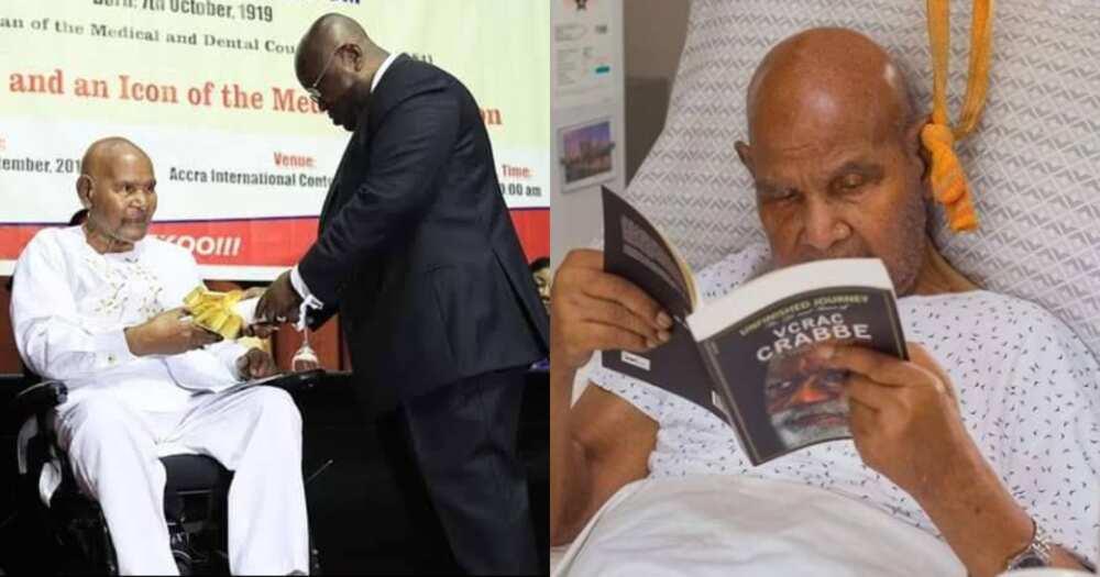 Dr Emmanuel Evans-Anfom: Ghana's oldest doctor dies at 101