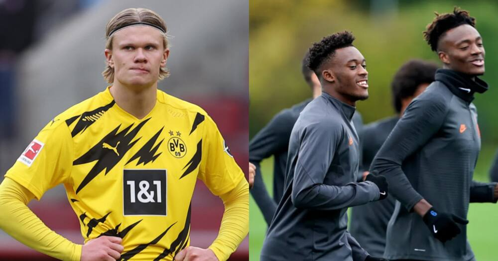 Dortmund reject Chelsea offer for Erling Haaland which includes Hudson Odoi