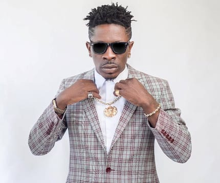 Pogba's brother meets dancehall king Shatta Wale at London Reign album concert