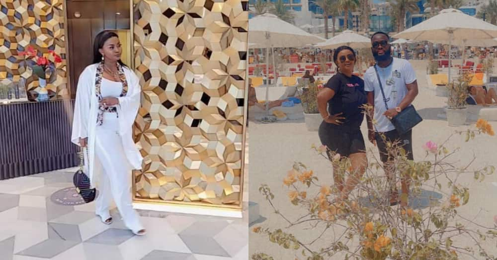 McBrown And Husband Maxwell Fly To Dubai To Chill; Photo And Video Drop