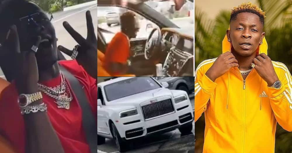 Shatta Wale Gets A Rolls Royce As He Returns To Social Media With A Bang (Video)