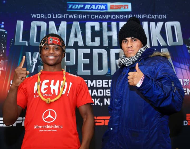 Isaac Dogboe to face Emanuel Navarrete on December 8