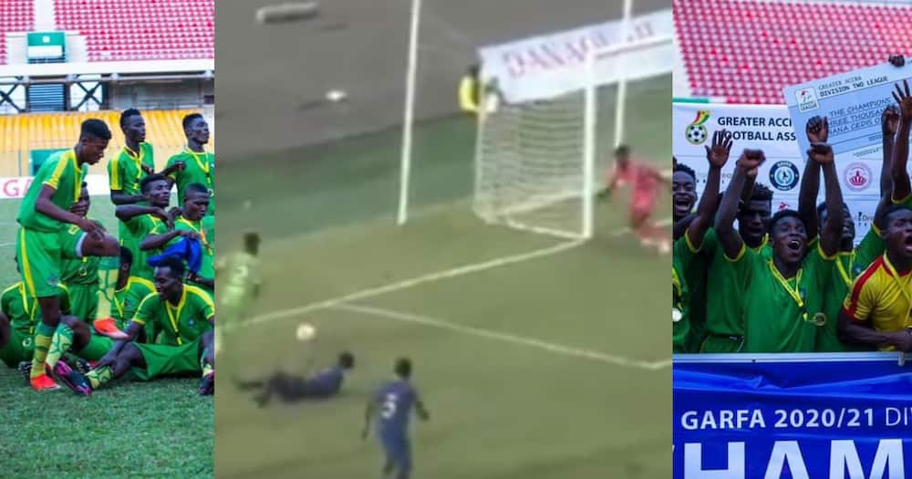 Division 2 player Misak Asante sets the internet on fire with magical goal; video drops