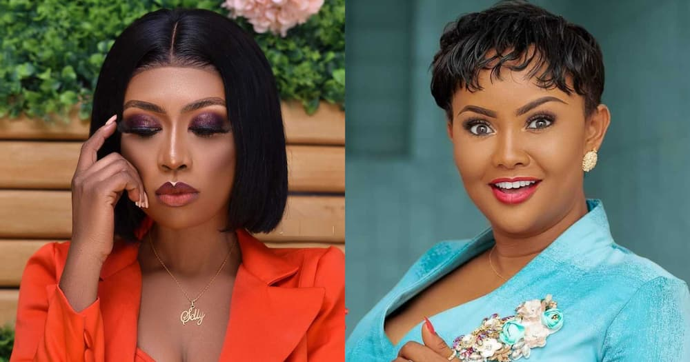 Selly Galley: McBrown says actress will get twins after Henewaa Piesie called her barren