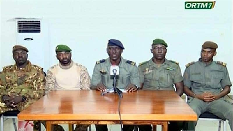 Mali coup: Colonel Assimi Goita declares himself new military leader after Keita's ouster