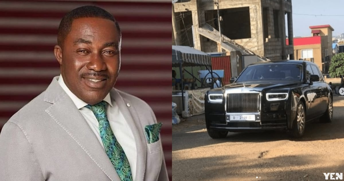 Osei Kwame Despite releases new customised Rolls Royce worth GHC2.4m (photos)
