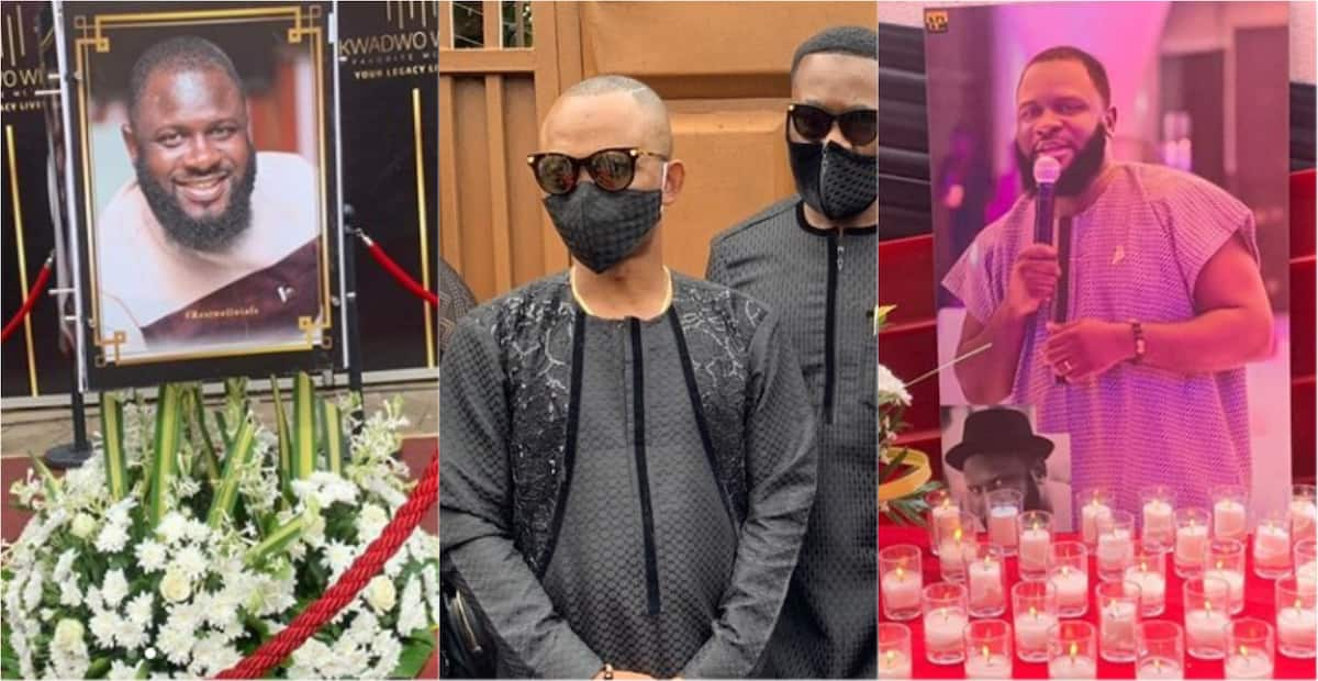Kwadwo Wiafe: 10 heartbreaking photos from the late Neat FM presenter's funeral
