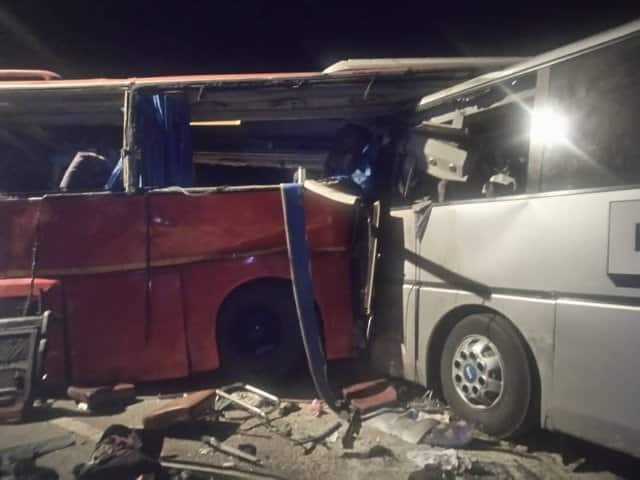 Accident in Walewale claims 1 life; 3 injured as police patrol car collides with bus