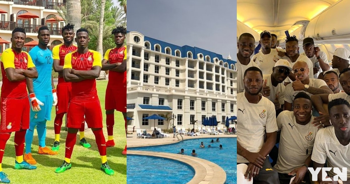 4 powerful photos of the luxurious hotel where the Black Stars will be lodging for the 2019 AFCON